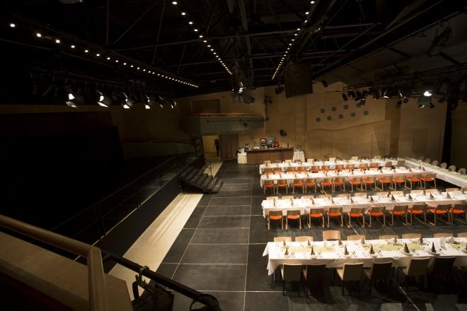 Rendezvények a színházteremben